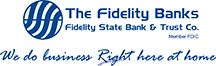 The Fidelity Banks Logos MemberFDIC Slogan1