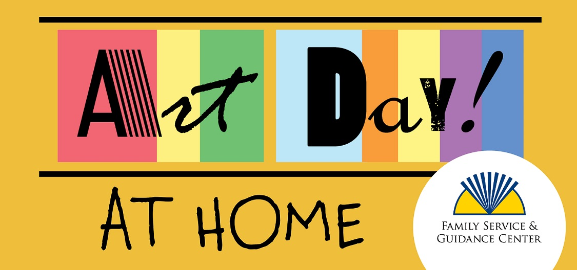 Art Day at Home logo lores web