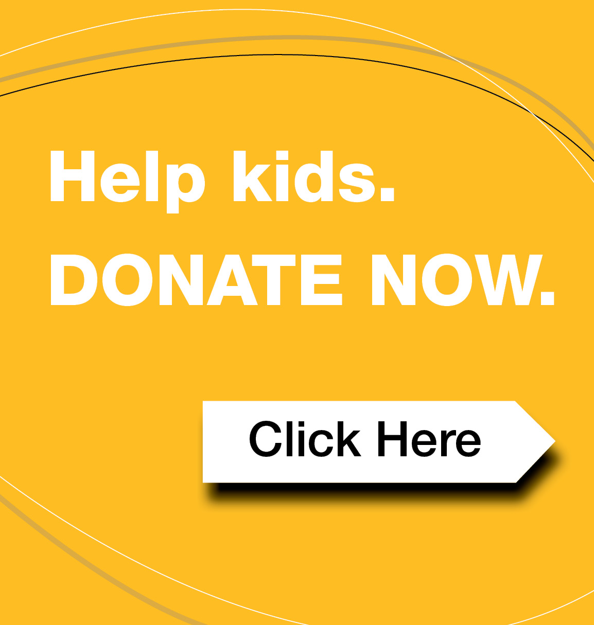 Donate Now button yellow hex febe24