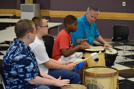 therapeutic drumming